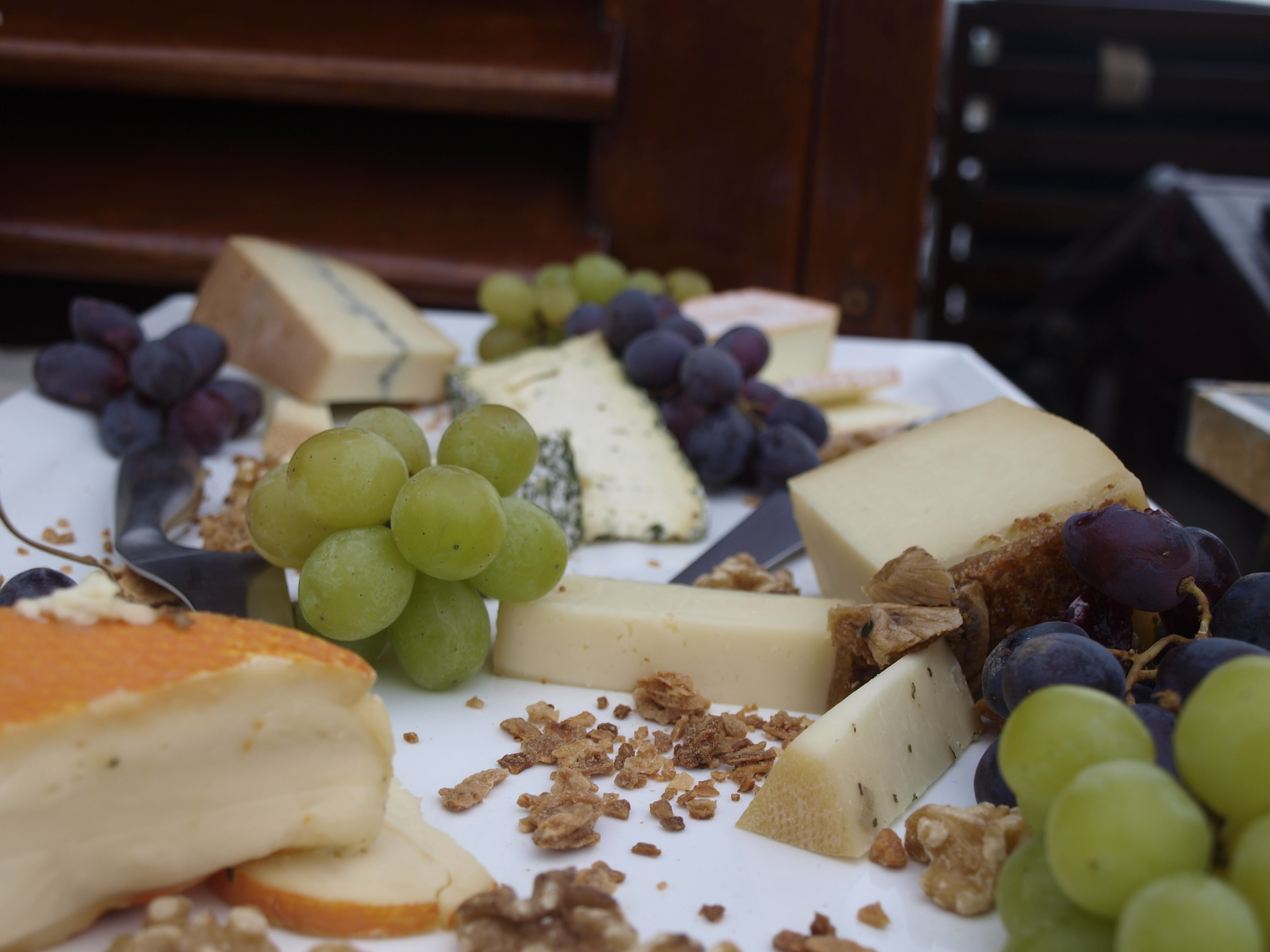 Ending the day with this delicious cheese board on board of the ship
